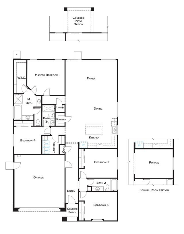 Residence 3 Home Plan by JMC Homes in Westview at Whitney