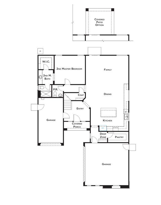 Residence 1 Floor Plan