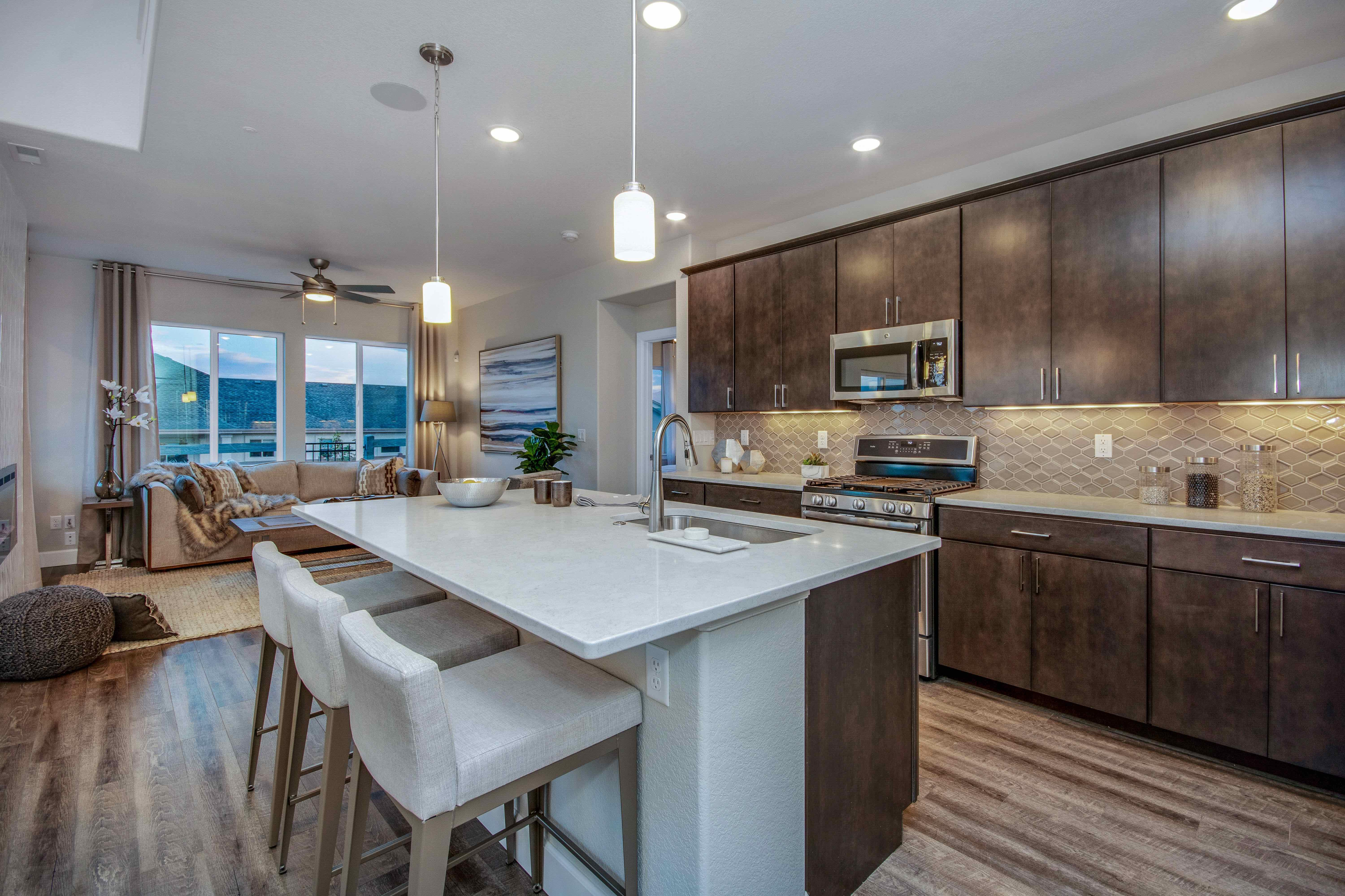 Kitchen featured in The Savannah By JM Weston Homes in Colorado Springs, CO