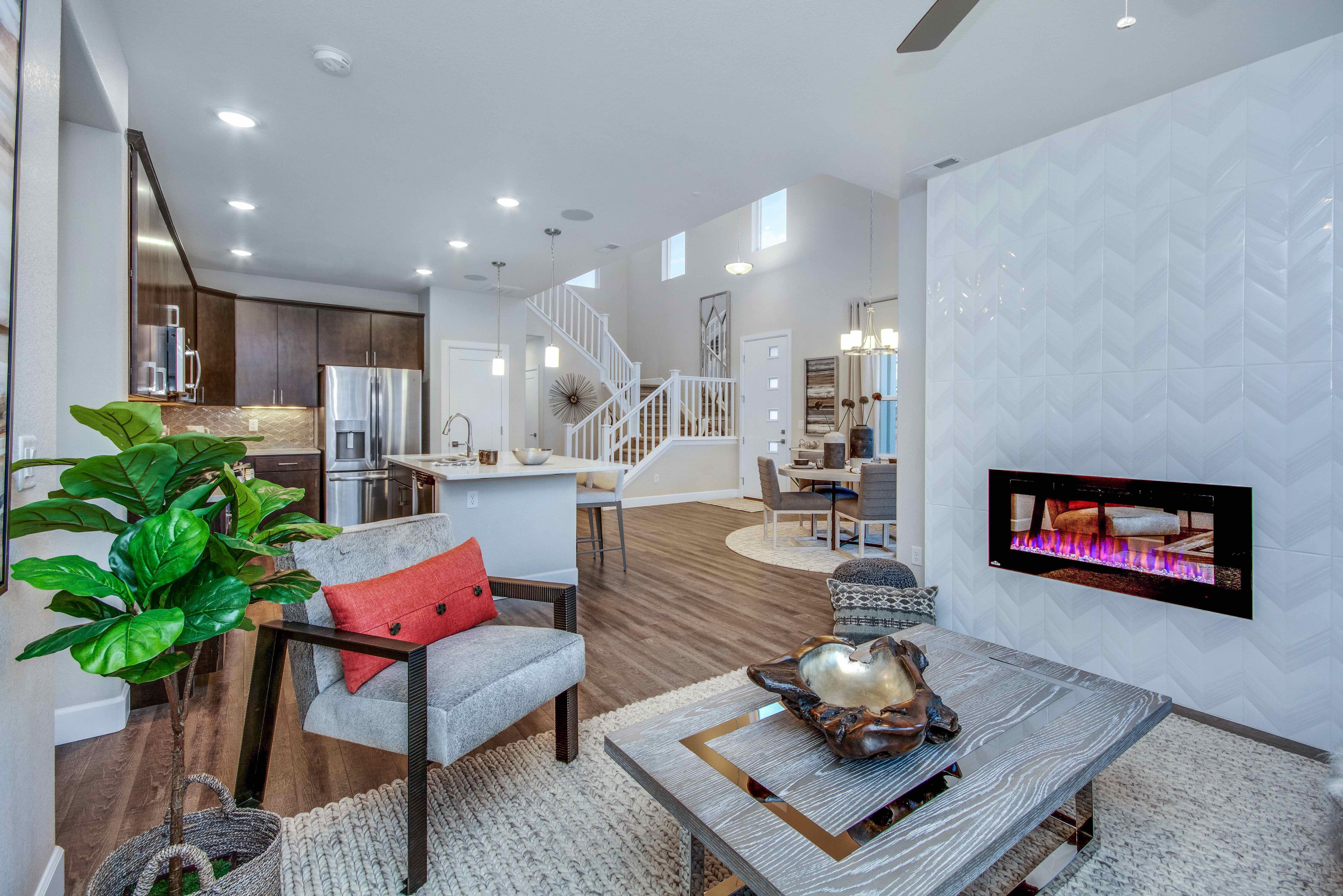 Living Area featured in The Savannah By JM Weston Homes in Colorado Springs, CO