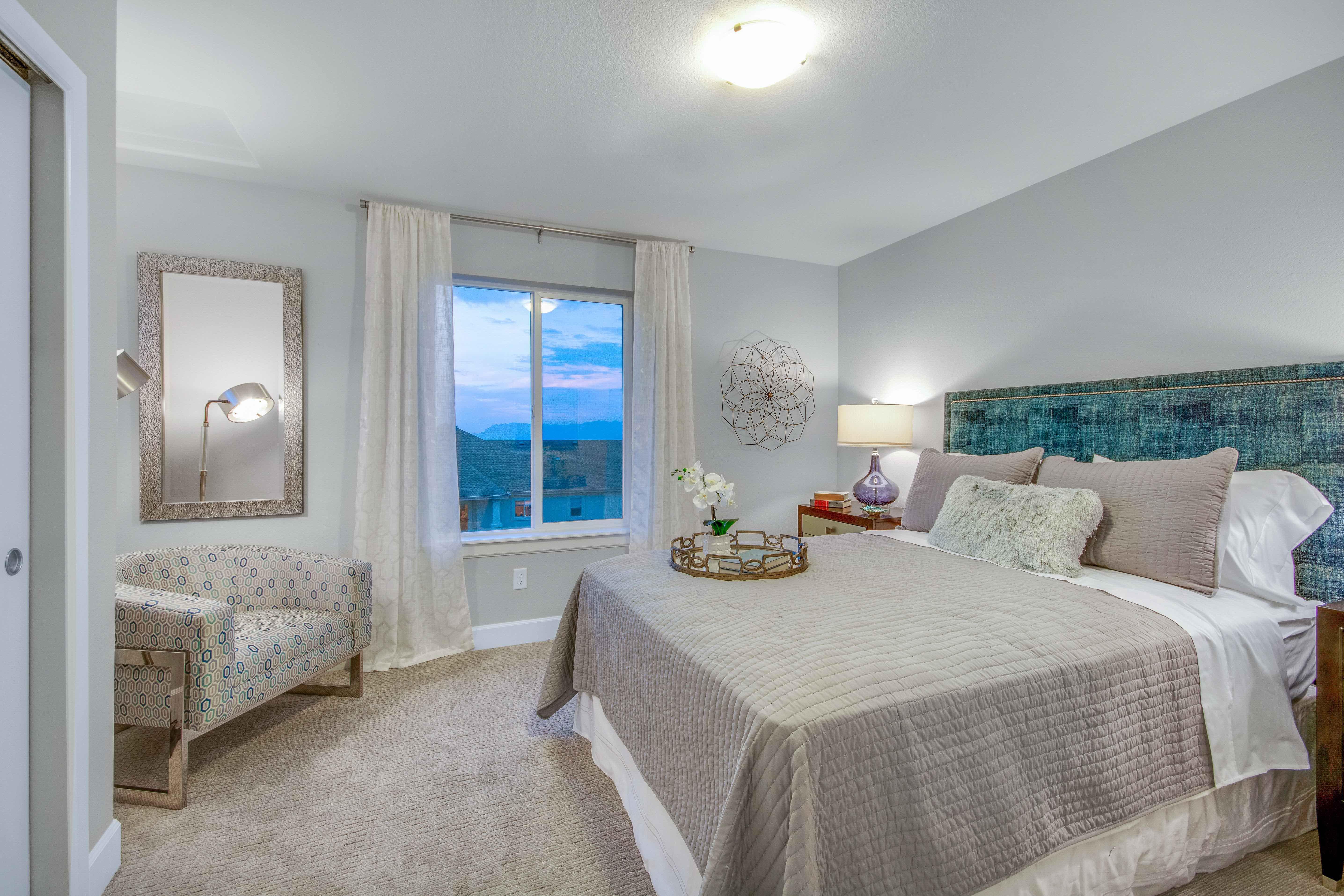 Bedroom featured in The Savannah By JM Weston Homes in Colorado Springs, CO