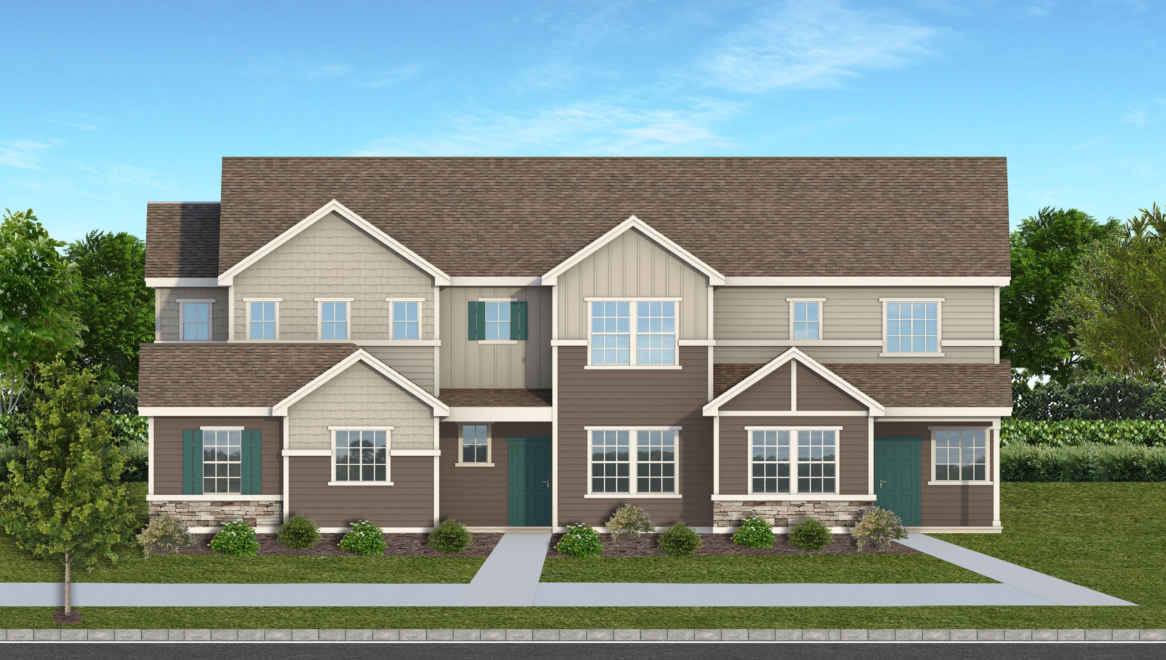 Exterior featured in The Parque By JM Weston Homes in Colorado Springs, CO
