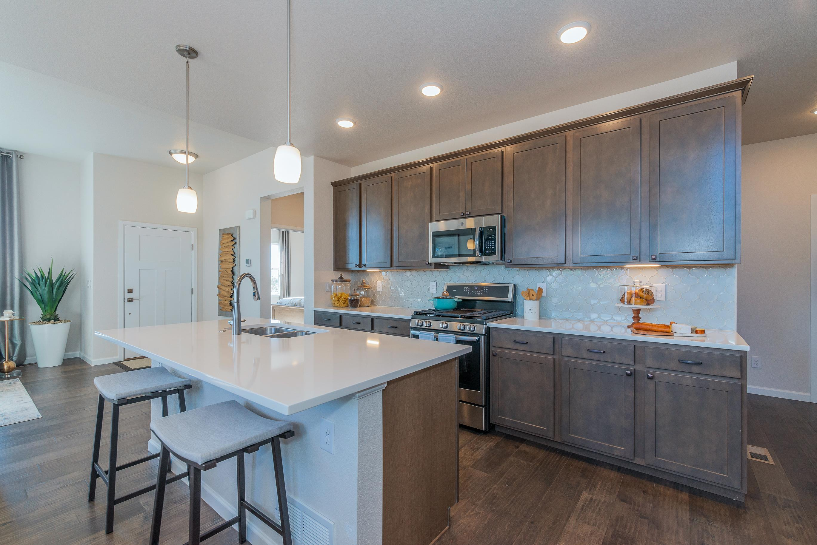 Kitchen featured in The Rose Hill By JM Weston Homes in Denver, CO