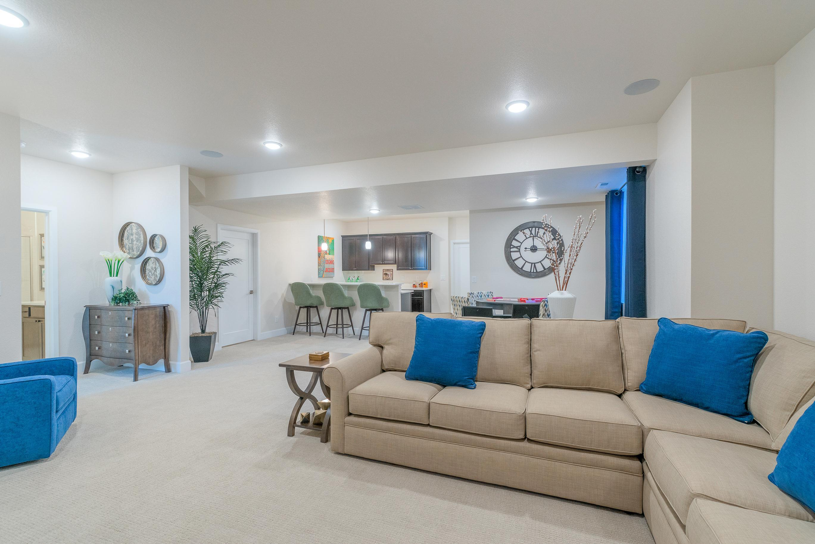 Living Area featured in The Rose Hill By JM Weston Homes in Denver, CO