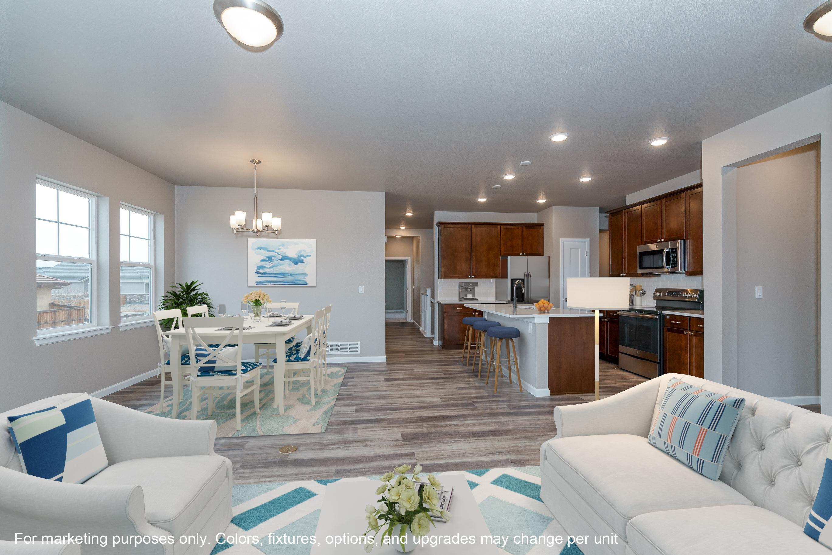 Living Area featured in The Dupont By JM Weston Homes in Denver, CO