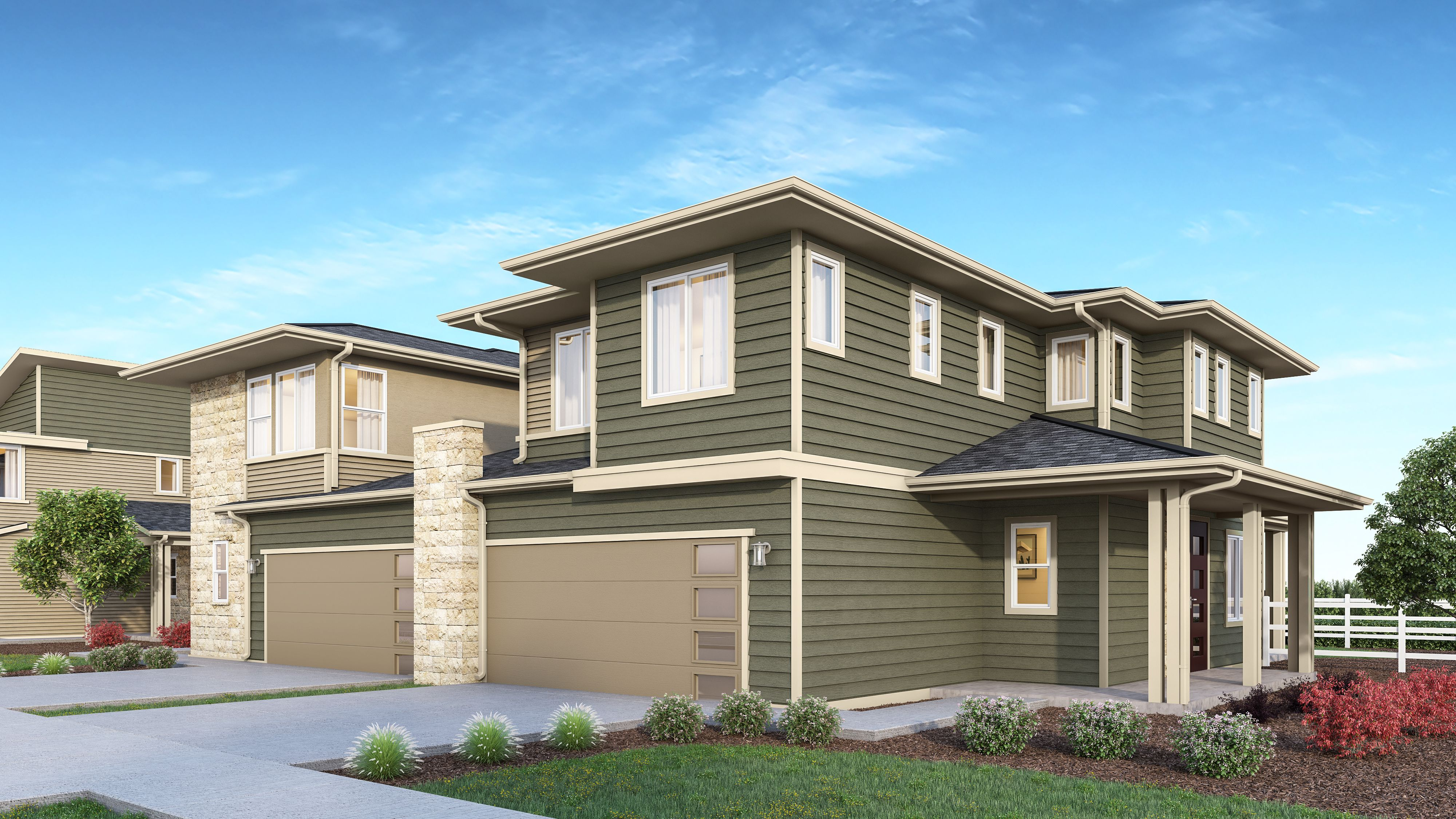 Exterior featured in The Savannah By JM Weston Homes in Colorado Springs, CO