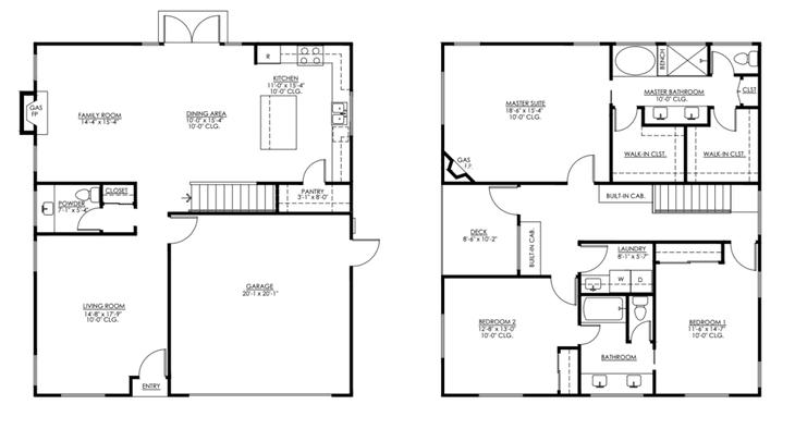 Lot Four:Floor Plan