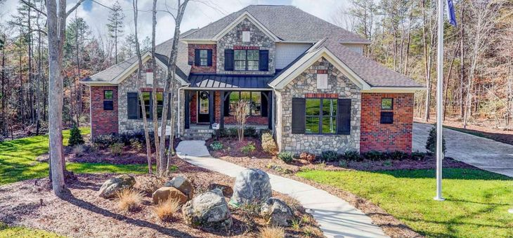 Trinity Ridge In Fort Mill Sc New Homes Floor Plans By Jp Orleans