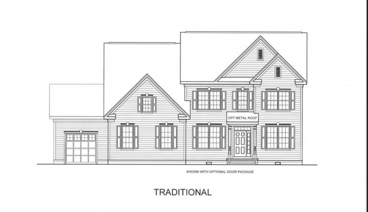 Sutton Grand at Walden:Traditional Elevation