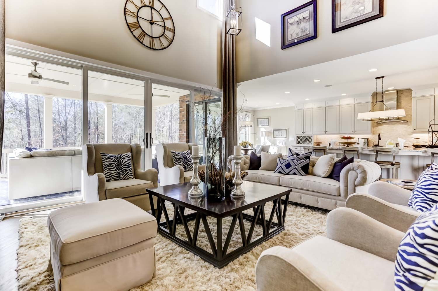 Living Area featured in the Downing III at Trinity Ridge By JP Orleans in Charlotte, SC