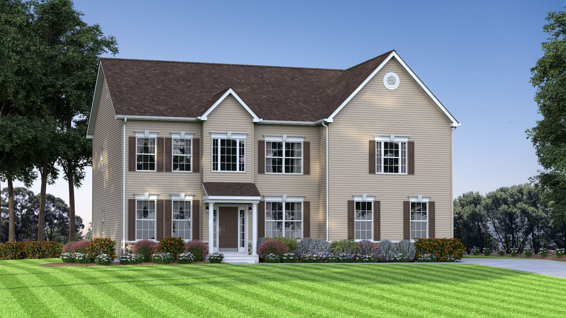 Exterior featured in The Charleston By JS Homes in Dover, DE