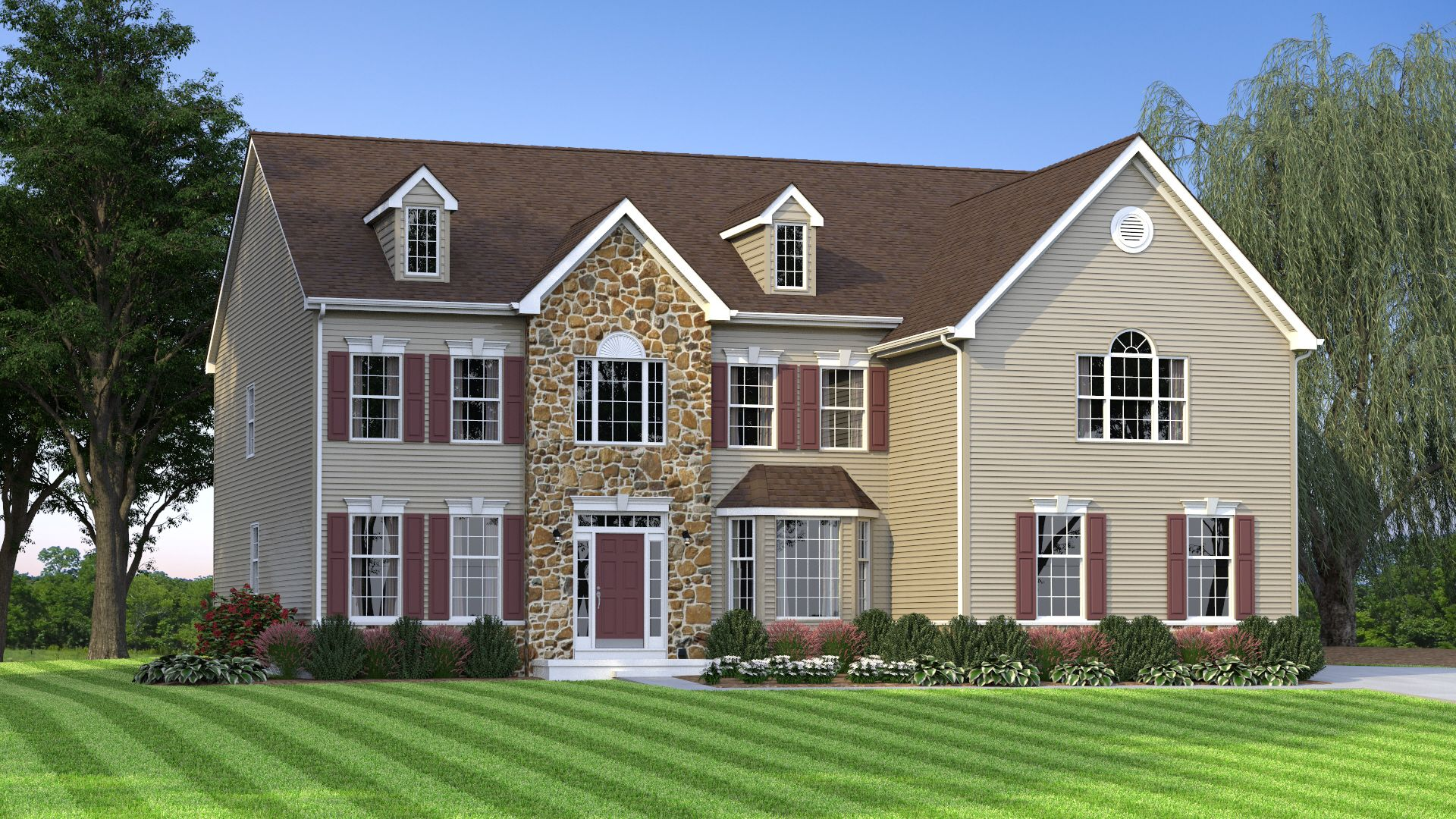Exterior featured in The Century By JS Homes in Dover, DE