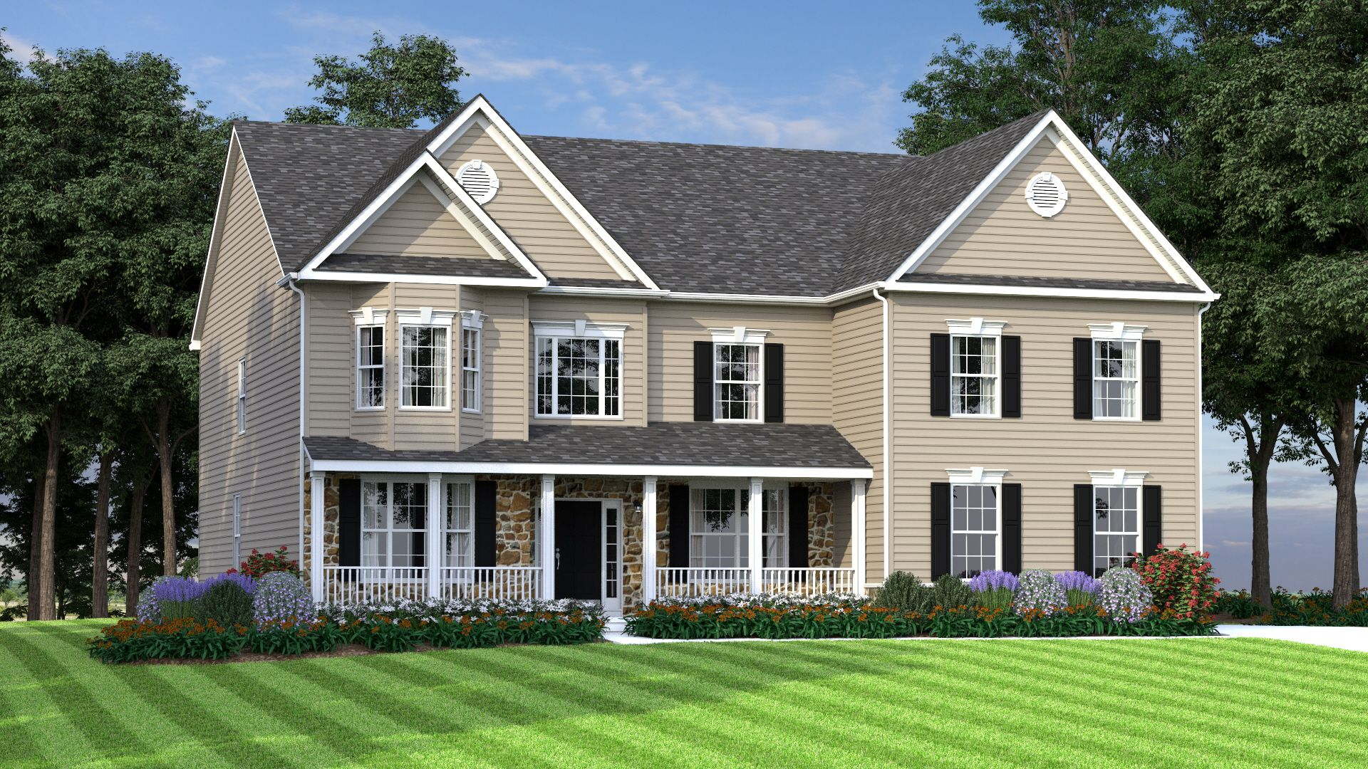 Exterior featured in The Gatsby By JS Homes in Dover, DE