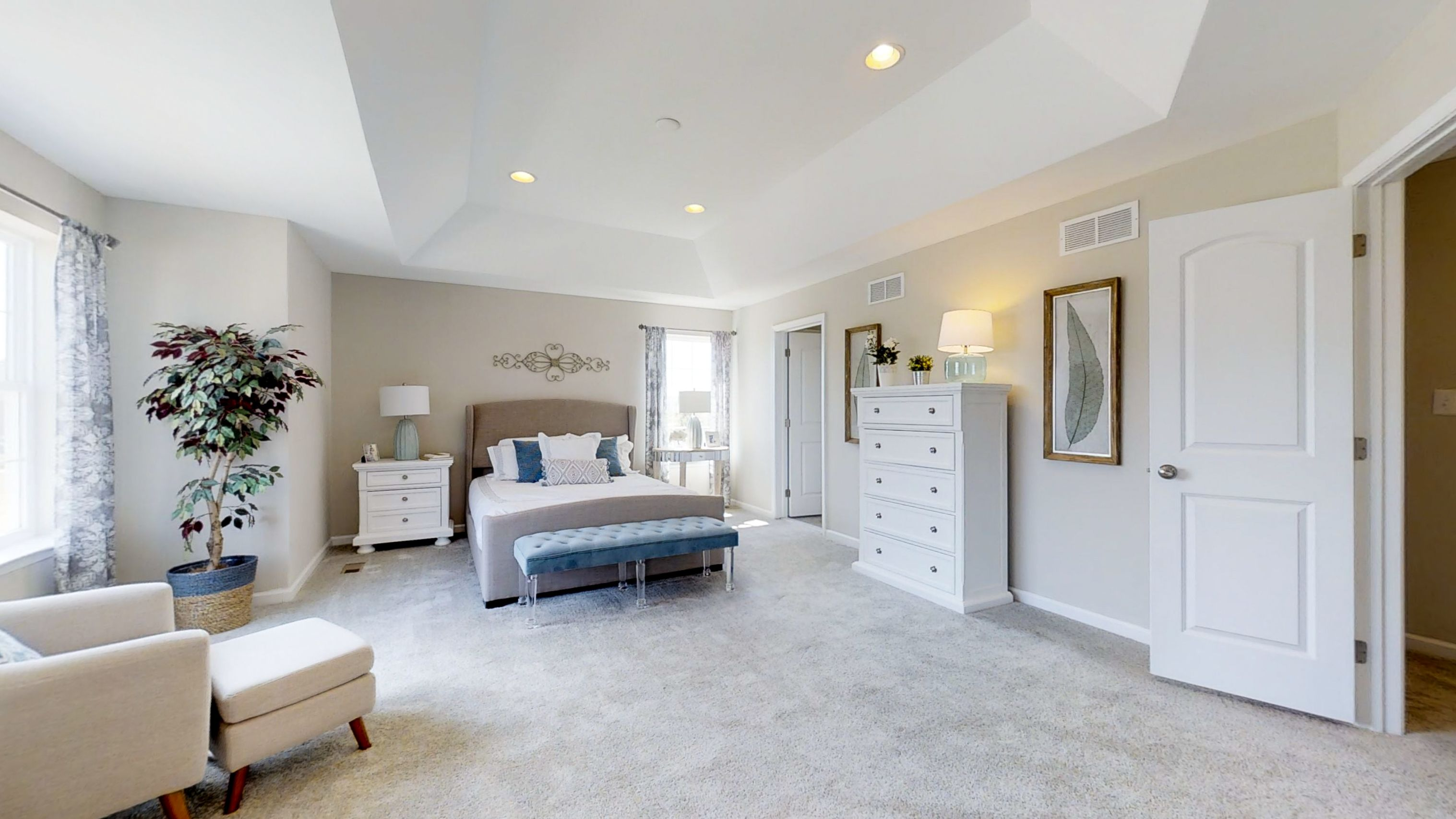 Bedroom featured in The Hancock By JS Homes in Dover, DE