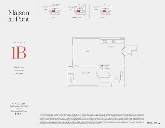 1B:Floor Plan