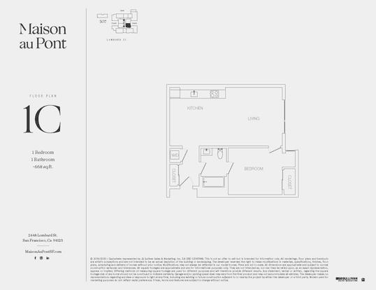 1C:Floor Plan