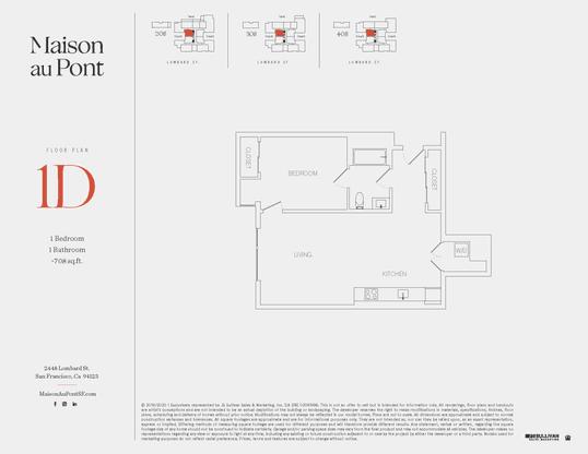 1D:Floor Plan
