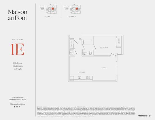 1E:Floor Plan