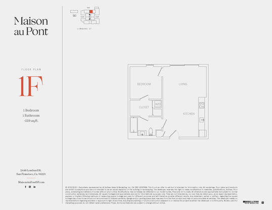 1F:Floor Plan