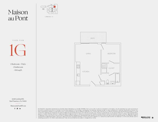 1G:Floor Plan