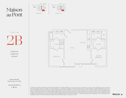 2B:Floor Plan
