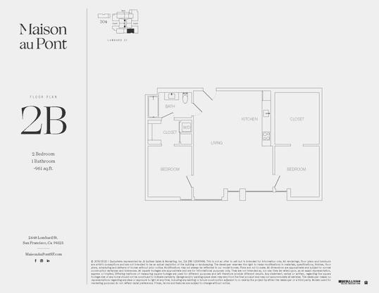 2B :Floor Plan