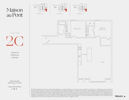 2C:Floor Plan