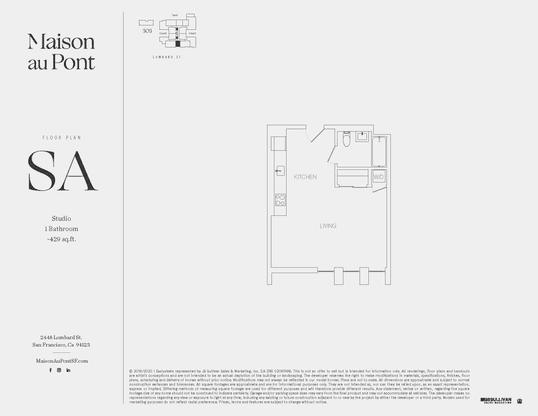 SA:Floor Plan