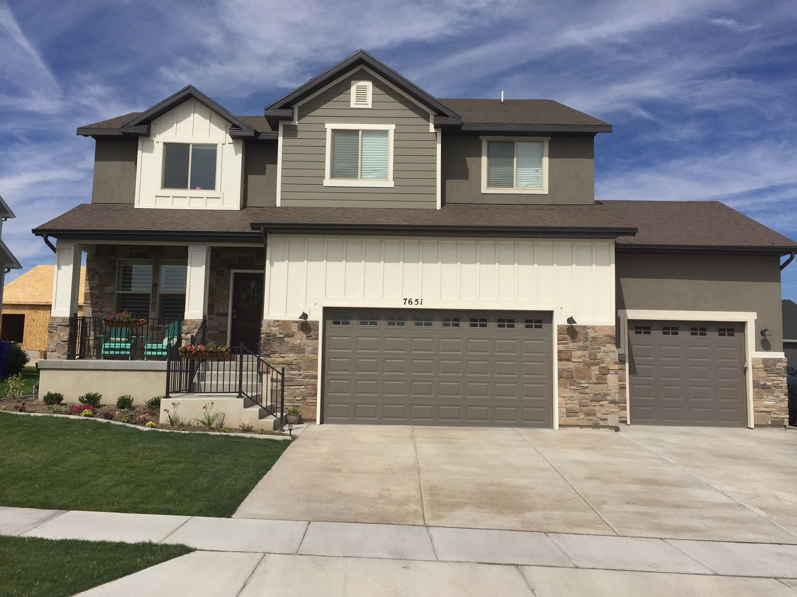 Exterior featured in the Abigail By J. Thomas Homes in Logan, UT