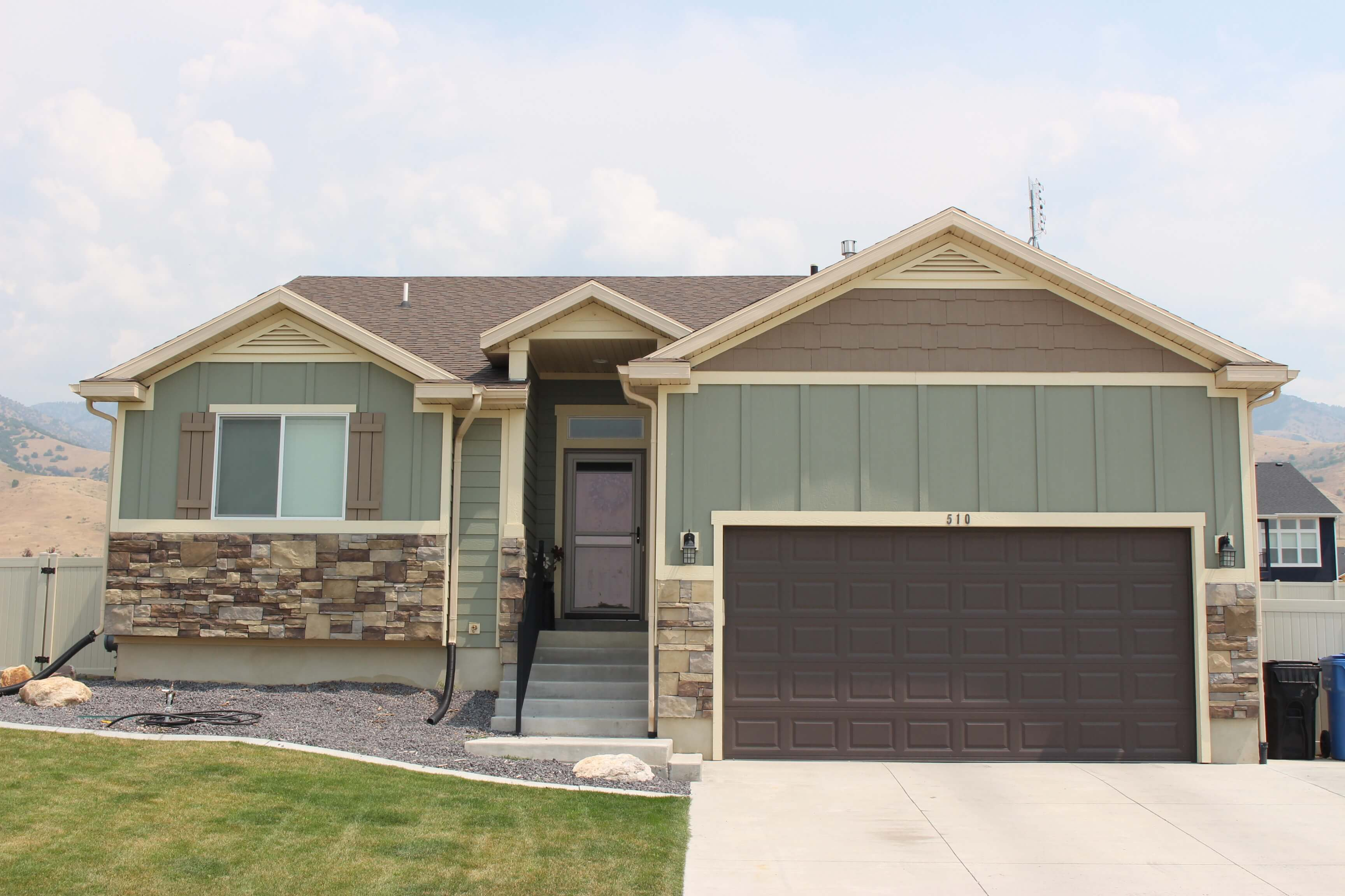 Exterior featured in the Olivia By J. Thomas Homes in Logan, UT