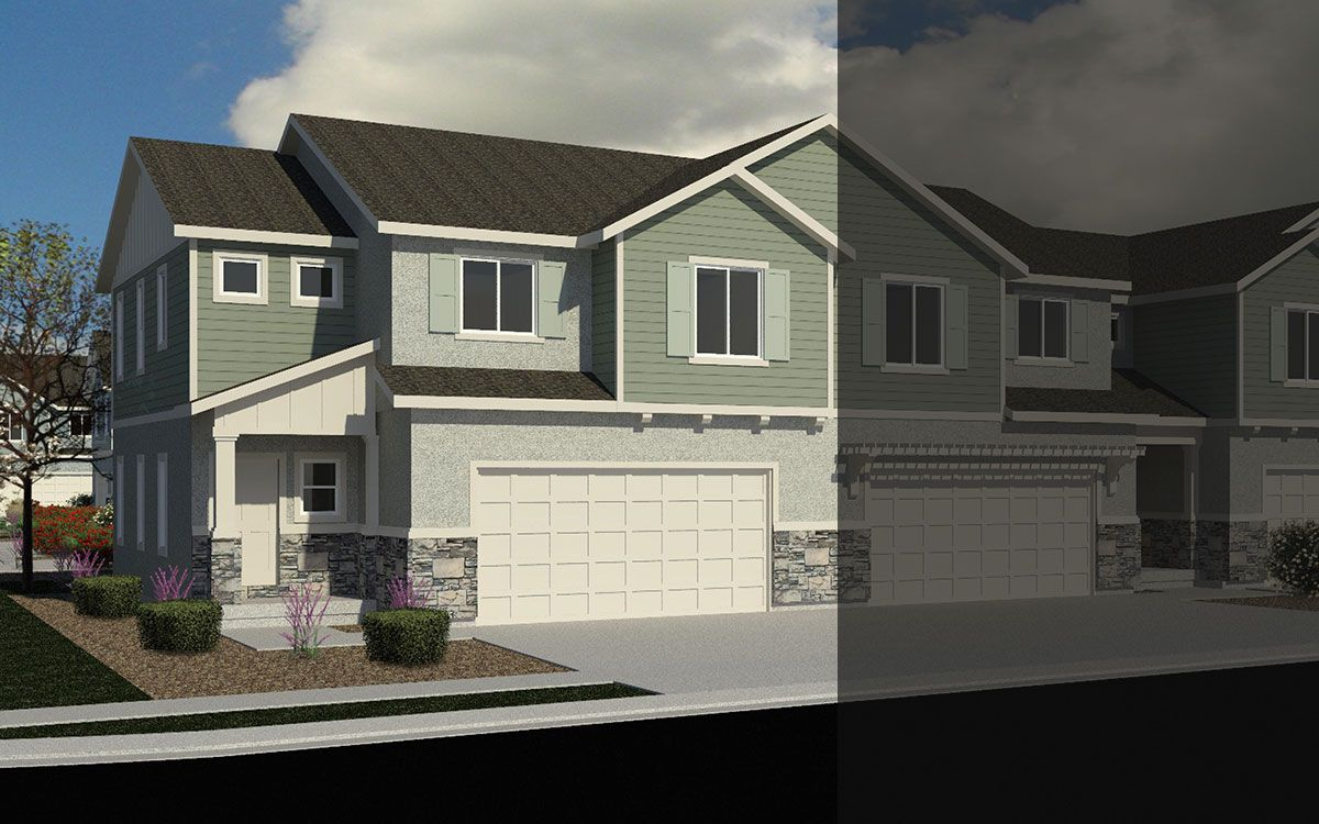 Exterior featured in the Unit C By J. Thomas Homes in Provo-Orem, UT