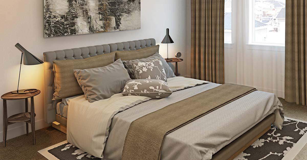Bedroom featured in the Abigail By J. Thomas Homes in Logan, UT