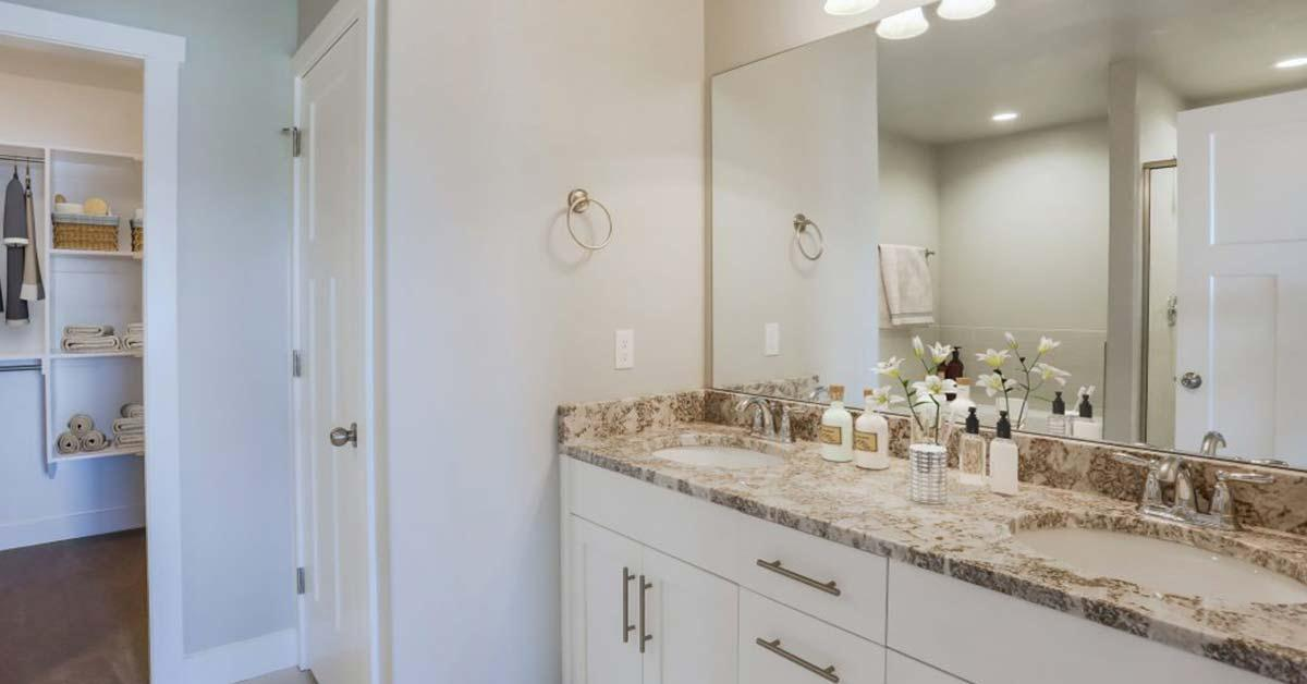 Bathroom featured in the Kimberly By J. Thomas Homes in Logan, UT