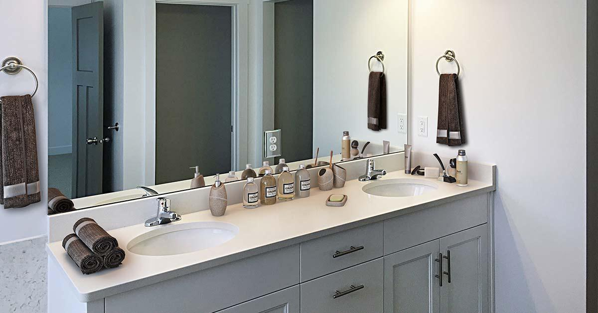Bathroom featured in the Abigail By J. Thomas Homes in Logan, UT