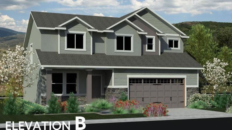 Exterior featured in the April Dawn By J. Thomas Homes in Logan, UT