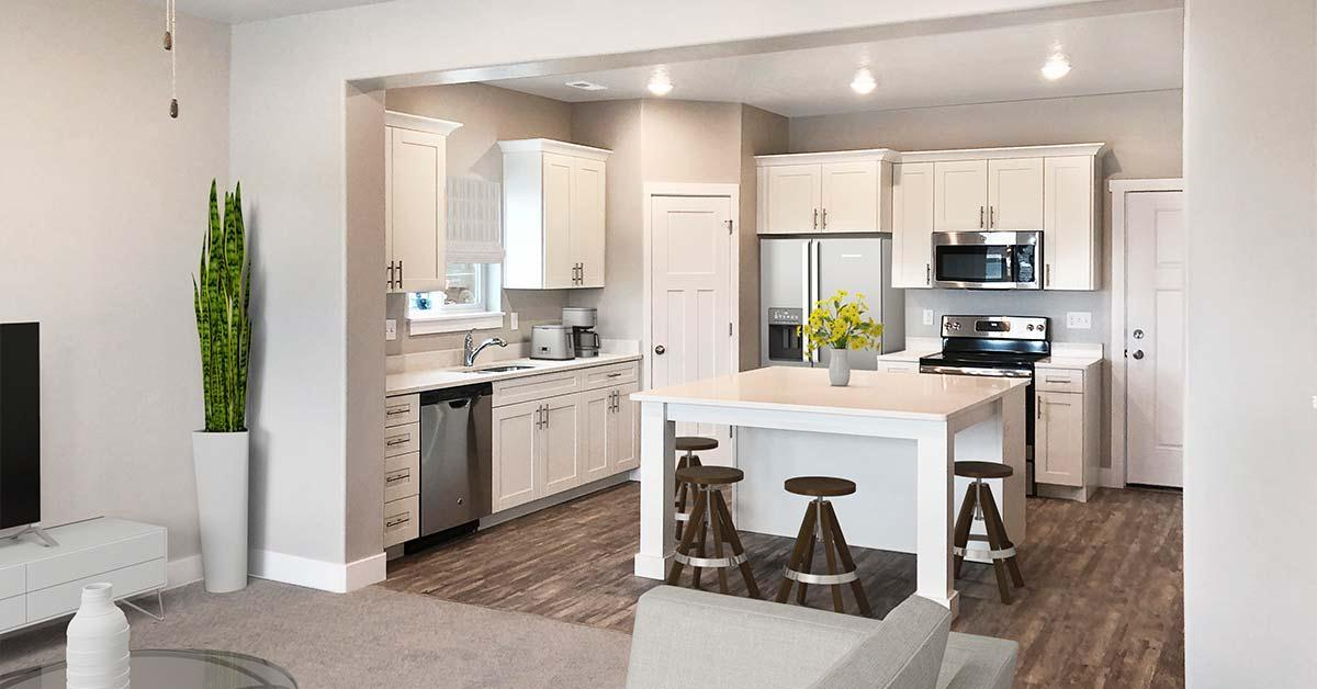 Kitchen featured in the Juniper Springs Unit B By J. Thomas Homes in Provo-Orem, UT