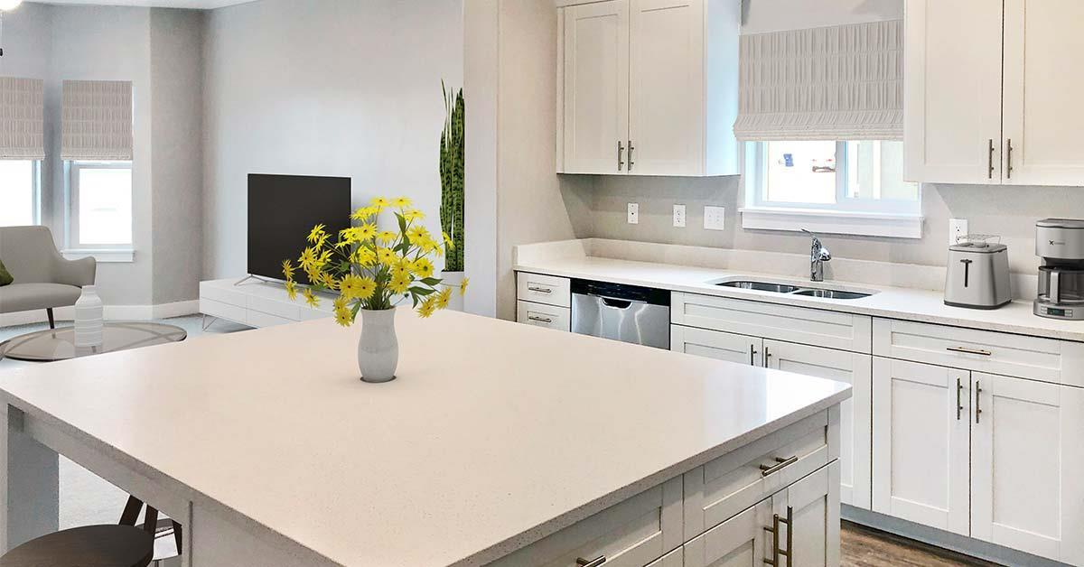 Kitchen featured in the Juniper Springs Unit C By J. Thomas Homes in Provo-Orem, UT