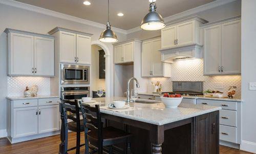 Kitchen-in-Homesite 181 - LandL of Raleigh-at-Bella Casa-in-Apex