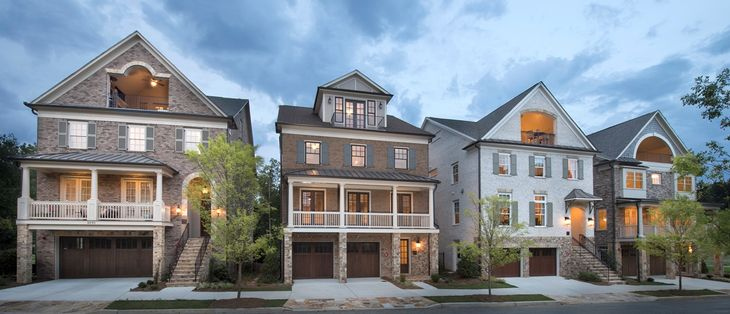 The Enclave on Collier:Distinctive New Luxury Homes and Townhomes