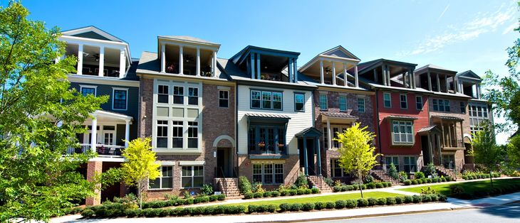 The Heritage on Memorial:Luxury Townhomes with Sky Terraces