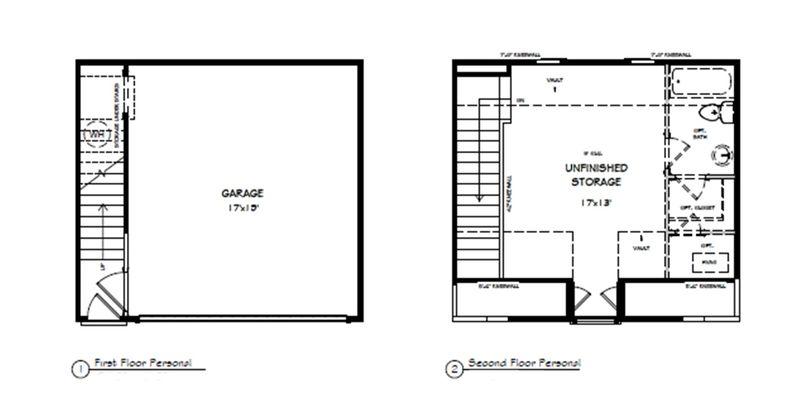 The Arlington - Detached Garage