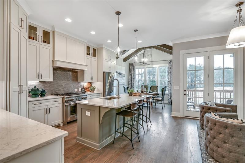 Kitchen featured in The Windwood By JW Collection in Atlanta, GA
