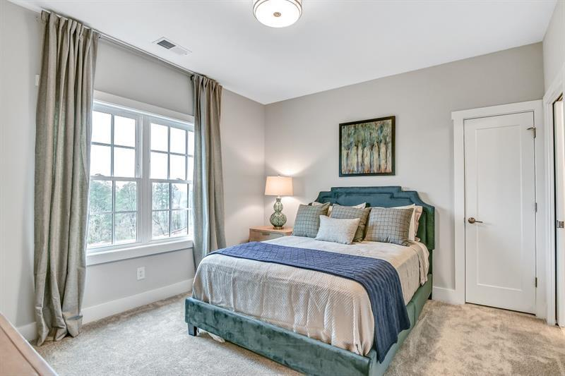 Bedroom featured in The Windwood By JW Collection in Atlanta, GA