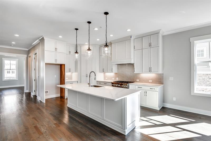 Kitchen featured in The Prentiss By JW Collection in Atlanta, GA