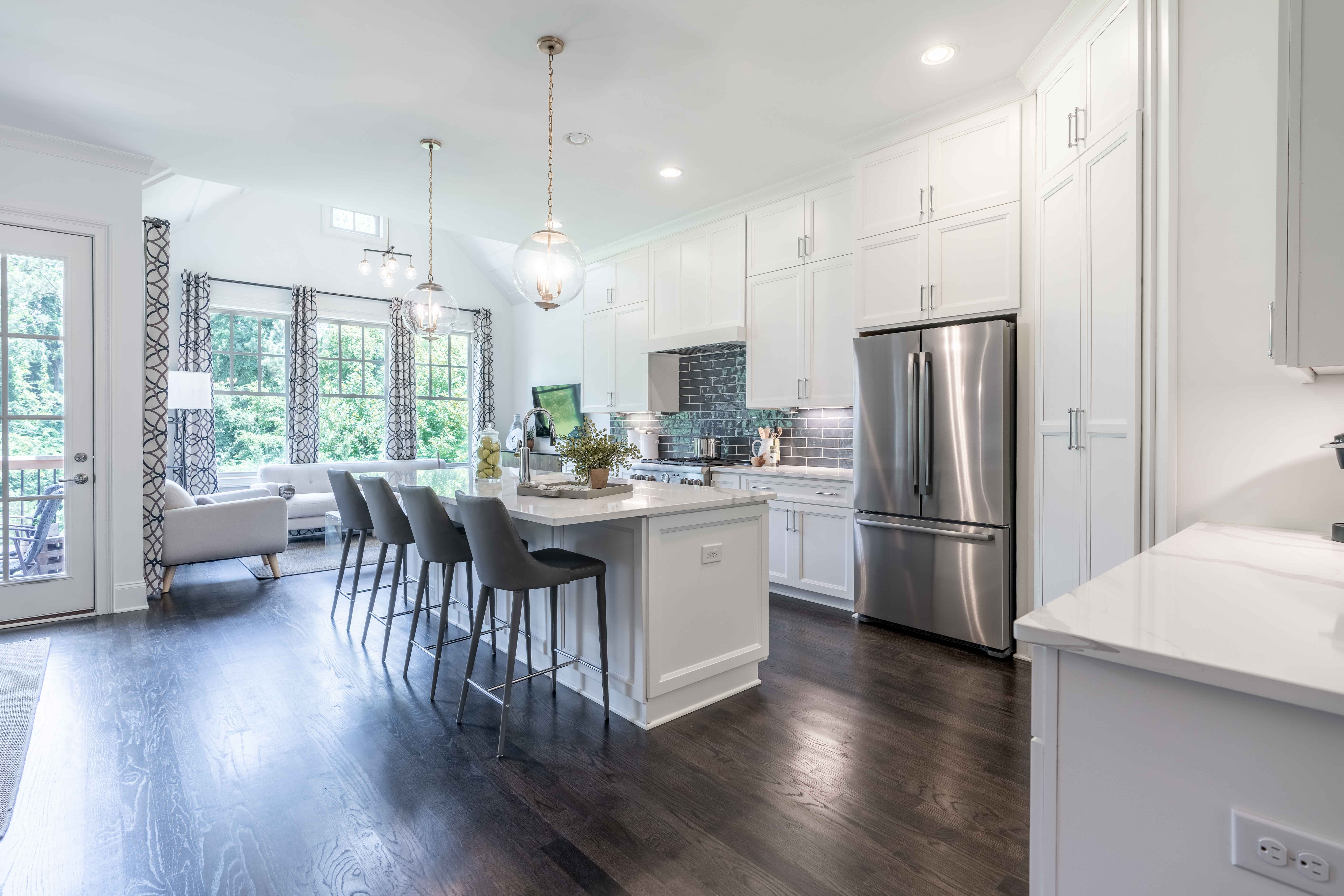 Kitchen featured in The Brookstone By JW Collection in Atlanta, GA