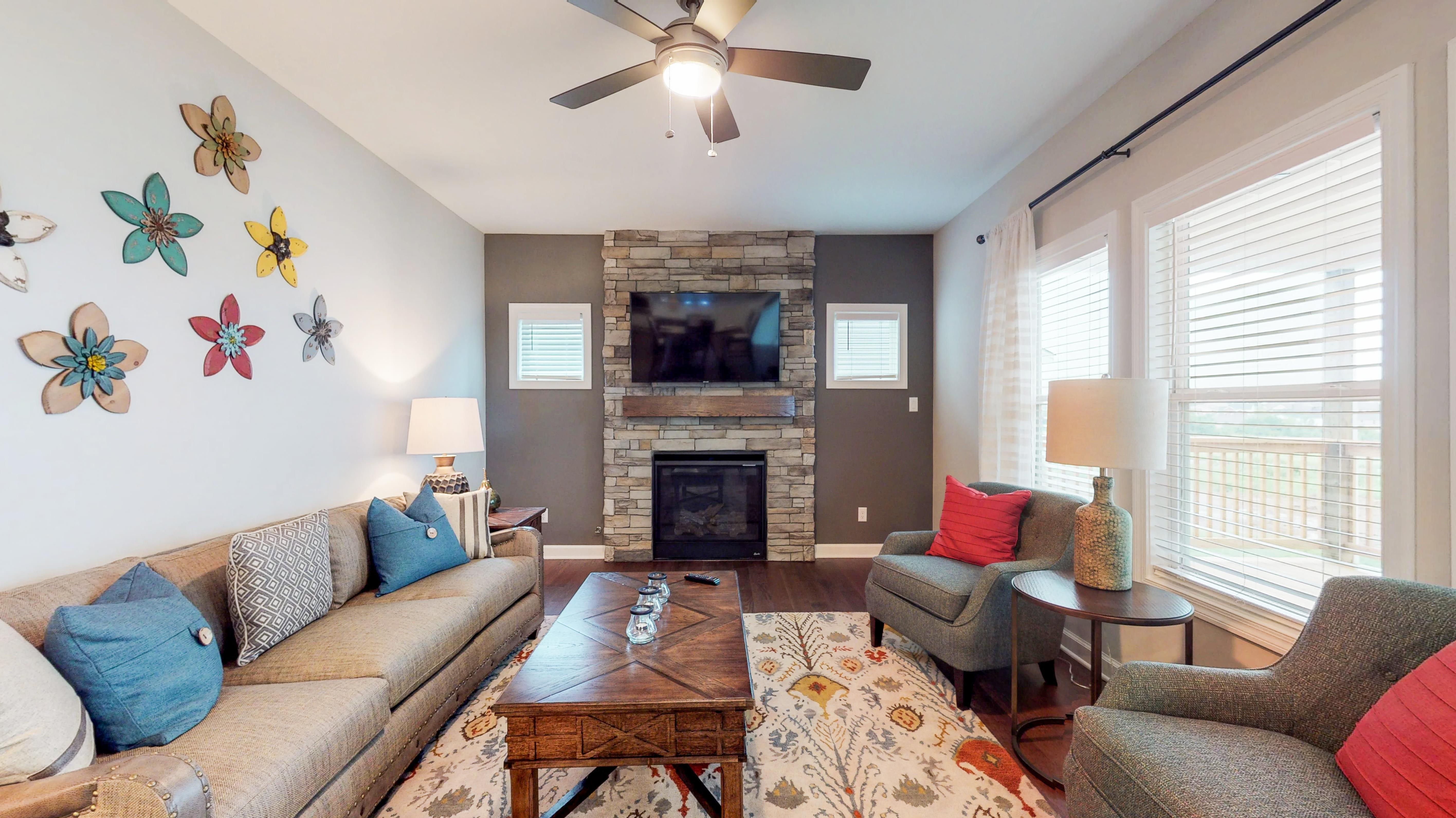 Living Area featured in The Abigail - 3rd Car By James Monroe Homes in Lexington, KY