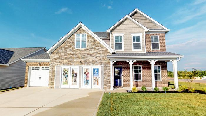 Exterior featured in The Abigail By James Monroe Homes in Lexington, KY