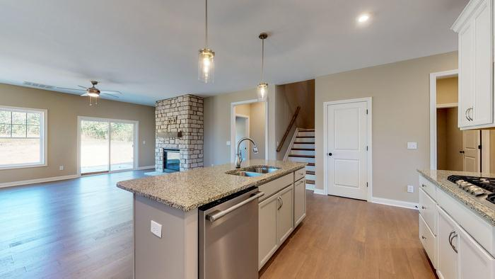 Kitchen featured in The Eleanor By James Monroe Homes in Lexington, KY