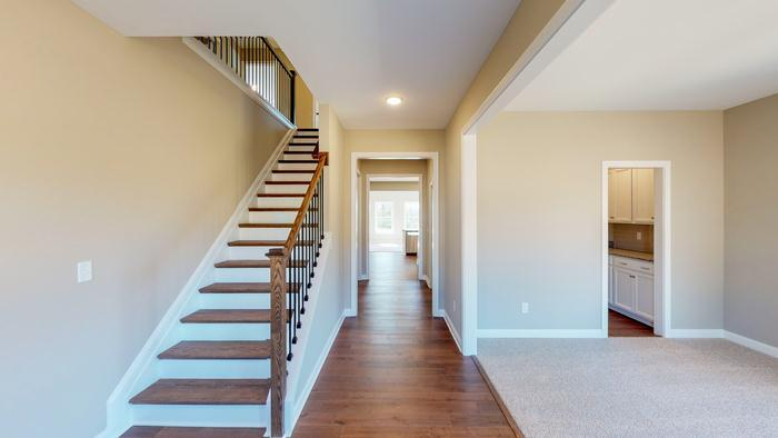 Living Area featured in The Jackie By James Monroe Homes in Lexington, KY