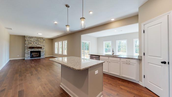 Kitchen featured in The Jackie By James Monroe Homes in Lexington, KY
